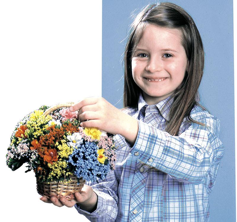 fiorellini carta crespa